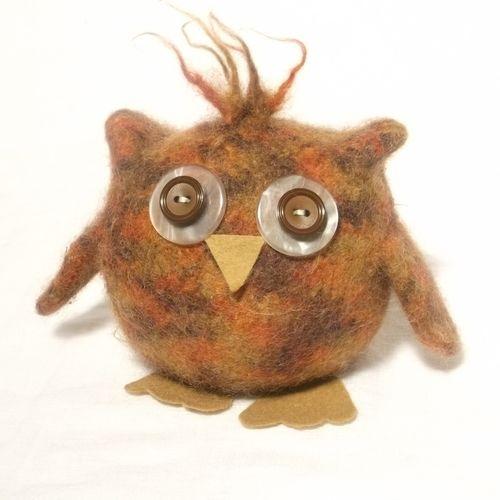 Makerist - Baby Owl  - Knitting Showcase - 1