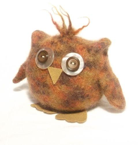 Makerist - Baby Owl  - Knitting Showcase - 2
