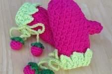 Makerist - Kinder -Himbeeren - Handschuhe.  - 1