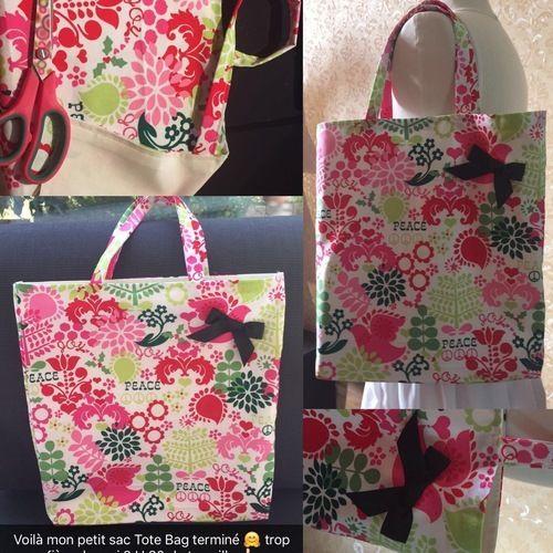 Makerist - Le sac tote pour ma princesse  - Créations de couture - 3