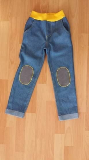 Makerist - Jeans mit Knieaufnähern - 1