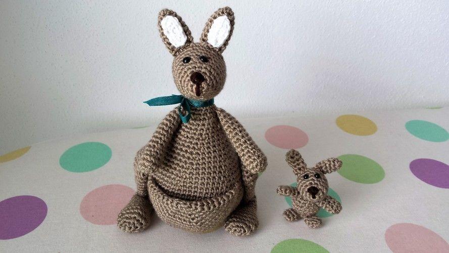 Makerist - Känguruh Mama mit Baby - Nr. 2 - Häkelprojekte - 1