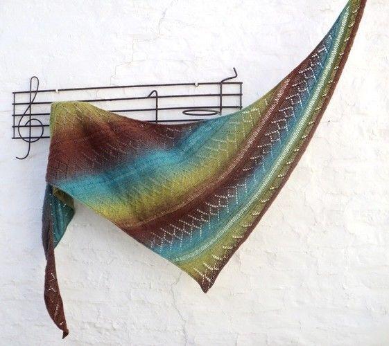 Makerist - Châle Priscille - Créations de tricot - 1