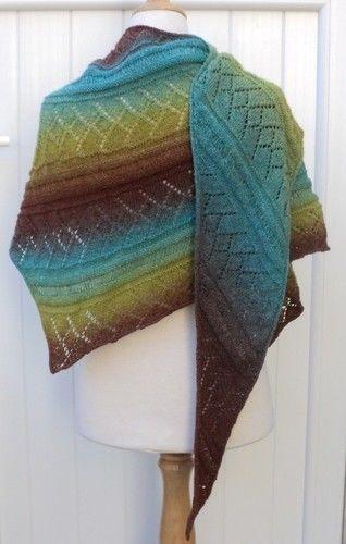 Makerist - Châle Priscille - Créations de tricot - 2