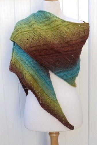 Makerist - Châle Priscille - Créations de tricot - 3