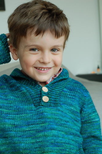 Makerist - Boy Sweater - Knitting Showcase - 1
