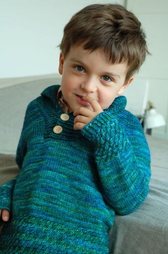 Makerist - Boy Sweater - Knitting Showcase - 3