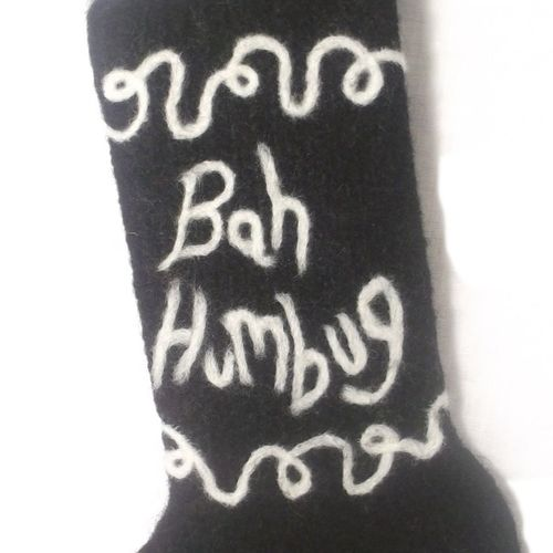 Makerist - Bah Humbug!! grumpy old mans Christmas stocking - Knitting Showcase - 2