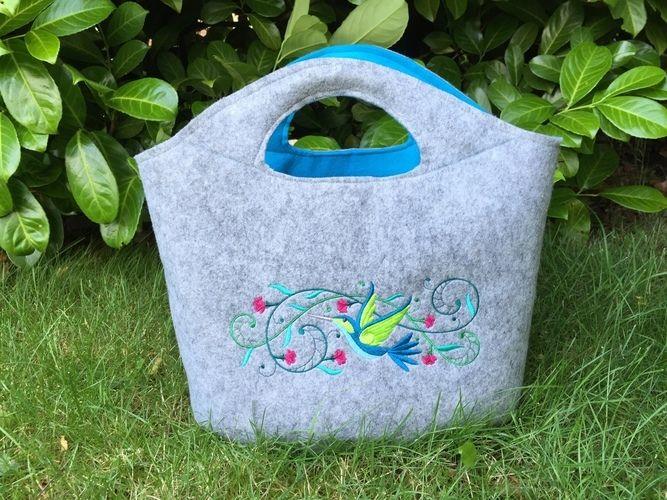 Makerist - Tasche Filz von SO Stefanie Kroth für meine Mutter - Nähprojekte - 1