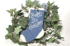Makerist - Baby's First Christmas Stocking - 1