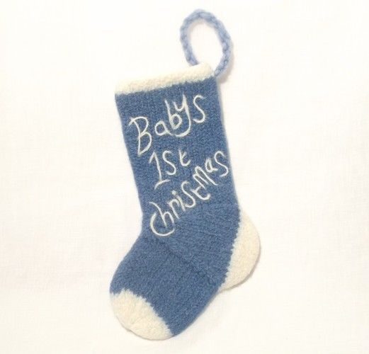 Makerist - Baby's First Christmas Stocking - Knitting Showcase - 2