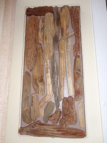 Makerist - cadre en bois flotté   ramassé sur es plages de Bretagne - Autres créations - 1
