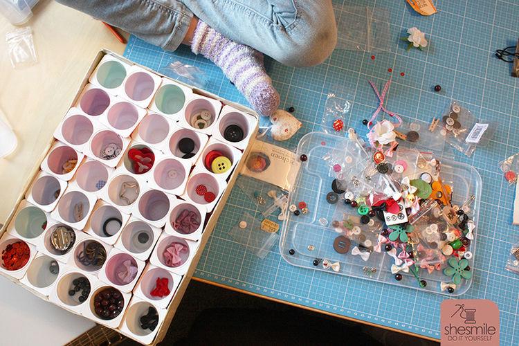 Makerist - Setzkasten aus Joghurtbecher - DIY-Projekte - 3