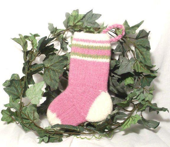 Makerist - Baby Girls Christmas Stocking - Knitting Showcase - 1