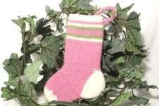 Makerist - Baby Girls Christmas Stocking - 1