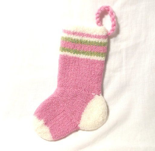 Makerist - Baby Girls Christmas Stocking - Knitting Showcase - 2