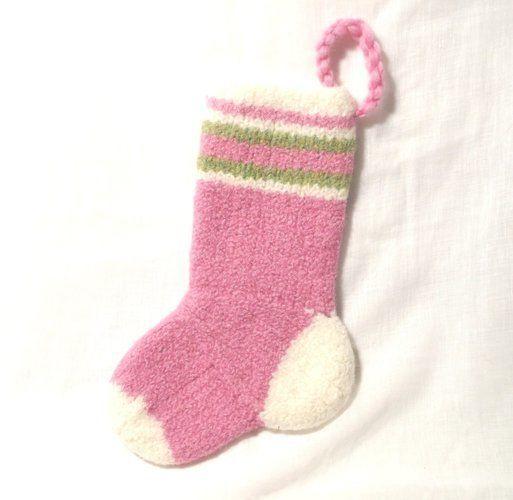 Makerist - Baby Girls Christmas Stocking - Knitting Showcase - 2