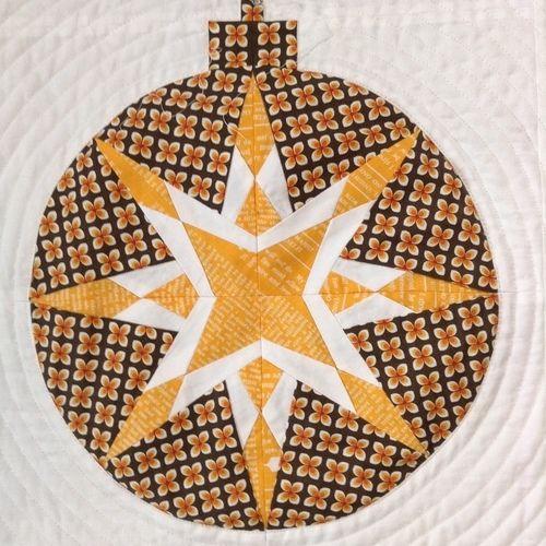 Makerist - Weihnachtsquilt - Kreise auch für andere Jahreszeiten :) - Patchwork-Projekte - 2