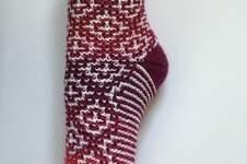 "Makerist - Socks ""Mosaic"" - 1"