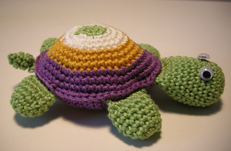 Makerist - Schildkröte - Häkelprojekte - 1