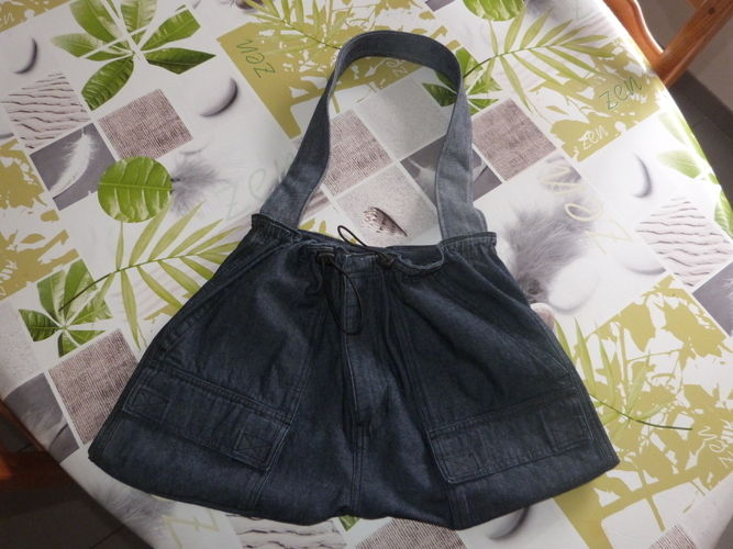 Makerist - sac bouffant en jean's - Créations de couture - 1