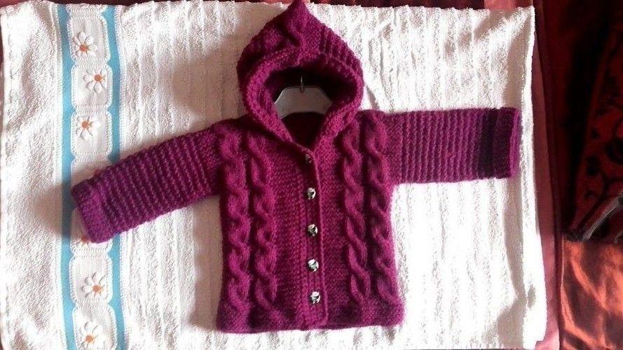 Makerist - veste à capuche pour bébé 1 an - Créations de tricot - 1