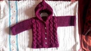 Makerist - veste à capuche pour bébé 1 an - 1