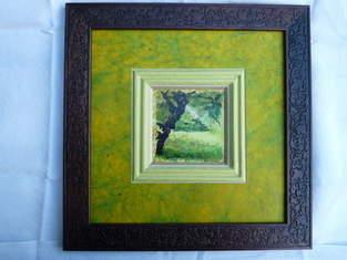 Makerist - Encadrement d'art : Paysage gersois  - 1
