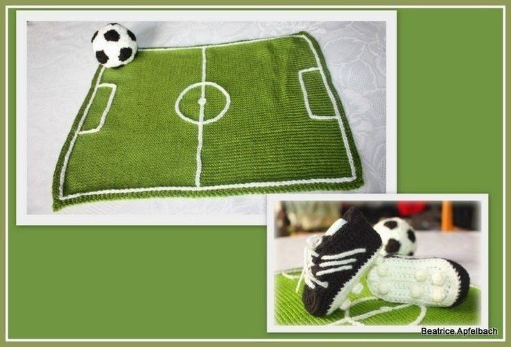 Makerist - Baby-Fußballschuhe - Häkelprojekte - 2