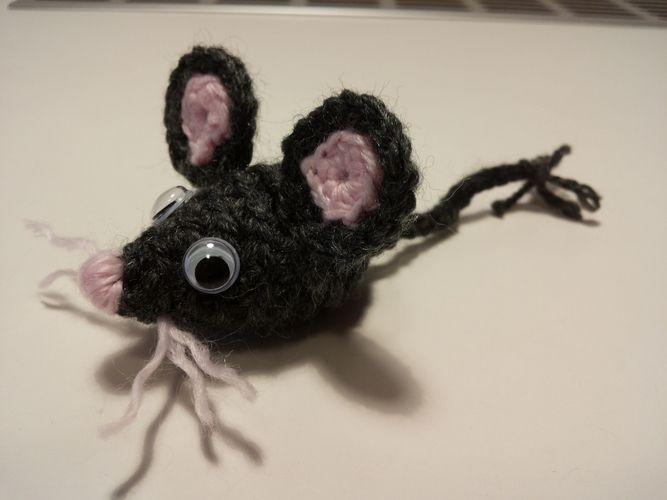 Makerist - kleine Maus - Häkelprojekte - 1