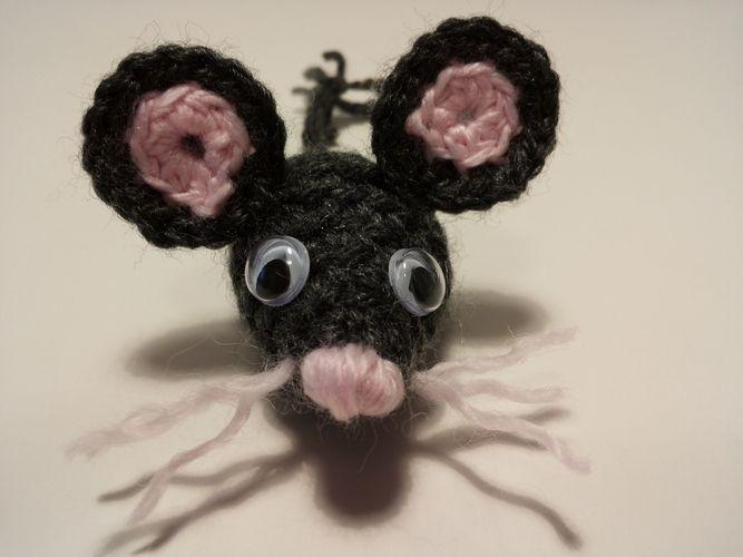 Makerist - kleine Maus - Häkelprojekte - 2