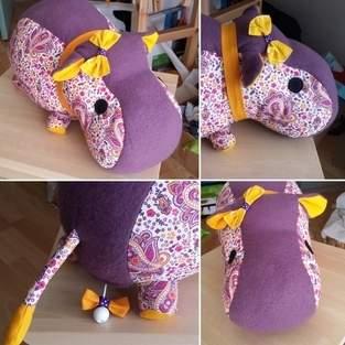 Hippo (tuto rhino) avec boîte à musique.
