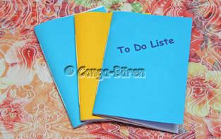 Makerist - DIY - einfaches Heft selbst binden - 1