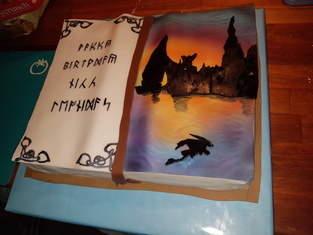 Makerist - Reise nach Berk - Geburtstagskuchen zum 9.  - 1