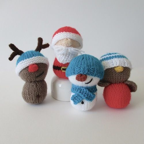 Makerist - Dinky Christmas Toys - Knitting Showcase - 1