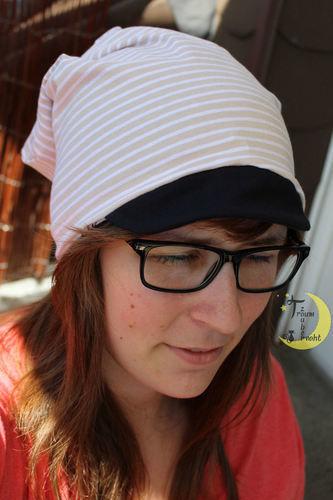 Makerist - Wende-Longbeanie mit Schirm für Erwachsene - Nähprojekte - 3