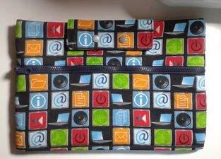 Makerist - Tablet Tasche - 1