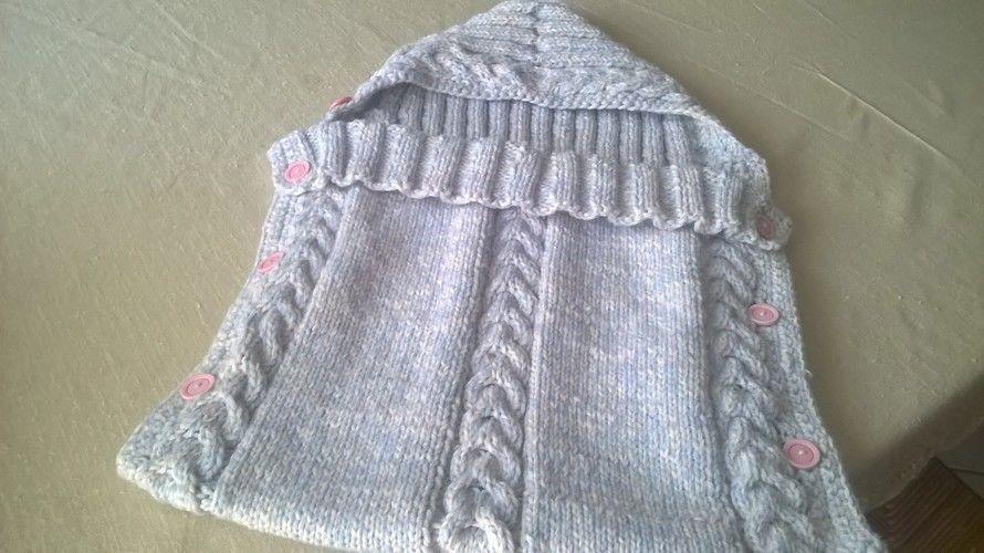 Makerist - nid d'ange au tricot - Créations de tricot - 1
