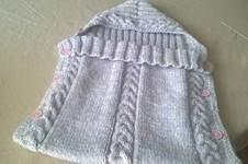 Makerist - nid d'ange au tricot - 1