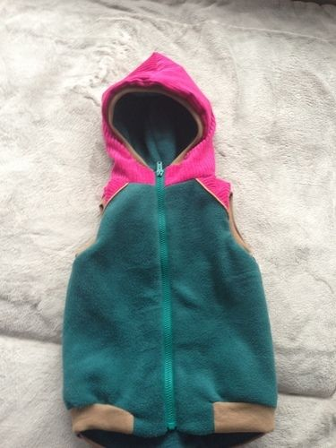 Makerist - Lille Wooldlöper aus Cord, Fleece und Softshell für mein kleines Mädchen in Größe 80 - Nähprojekte - 1