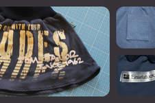 Makerist - Aus T-Shirt wird Rock - 1