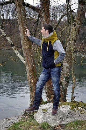 Makerist - Wooldlöper  Weste für den Mann aus wollstric - Nähprojekte - 1