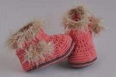 Makerist - Babyschuhe Eskimo Häkelanleitung - 1