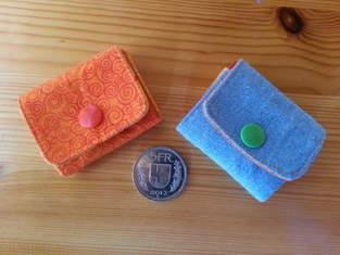 Mini-Portemonnaie für Notgroschen