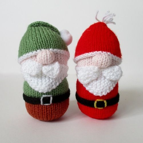 Makerist - Santa and Gnome - Knitting Showcase - 1
