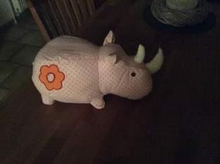 Nashorn für meinen Enkel Piet.