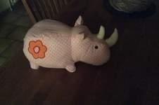 Makerist - Nashorn für meinen Enkel Piet.  - 1