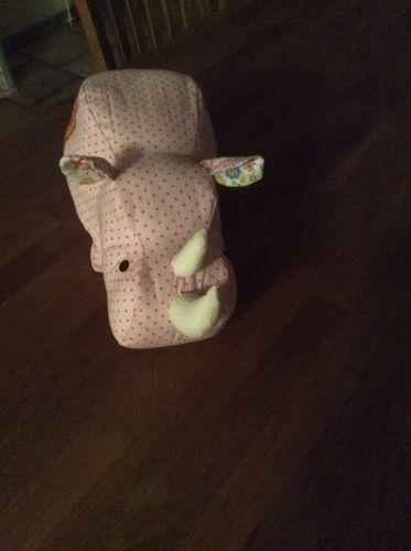 Makerist - Nashorn für meinen Enkel Piet.  - Nähprojekte - 2