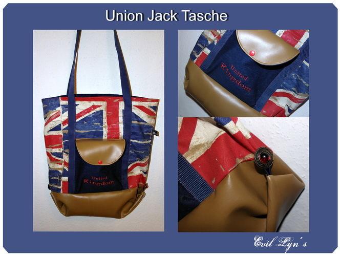 Makerist - Union Jack Tasche - Nähprojekte - 1