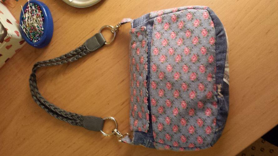 Makerist - Wechselklappen Handtasche  - Nähprojekte - 3